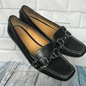 Cole Haan NikeAir Horse Bit Leather Loafers 7.5